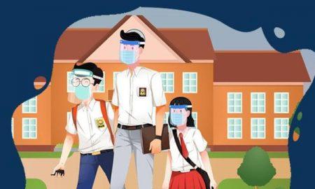 Ilustrasi Sekolah Tatap Muka