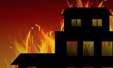 Ilustrasi Kebakaran Lapas Tangerang
