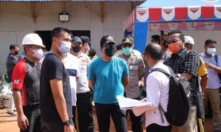 Kapolda Kalimantan Barat, Irjen Pol R. Sigid Tri Hardjanto turut didampingi Wakapolda Kalbar, Brigjen Pol Asep Safrudin beserta Pejabat Utama Polda Kalbar. Foto: Istimewa