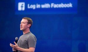 CEO Facebook, Mark Zuckerberg, saat berbicara pada konferensi F8 tanggal 25 Maret 2015 di San Francisco, California. Foto: Josh Edelson/AFP